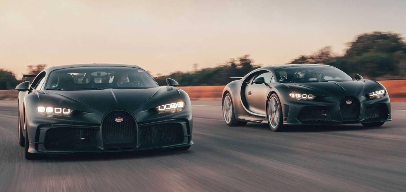 Obejrzyjcie dwa wyjątkowe Bugatti w akcji