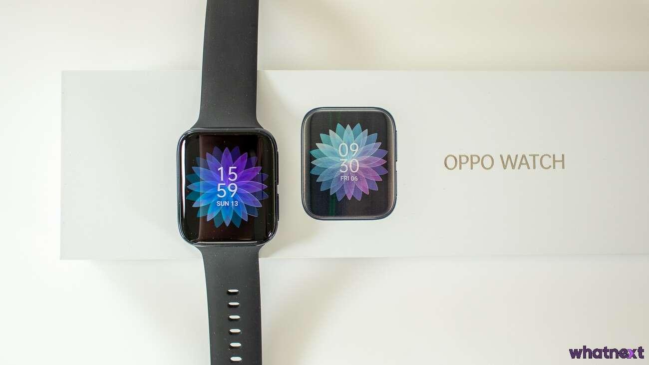 Test zegarka Oppo Watch