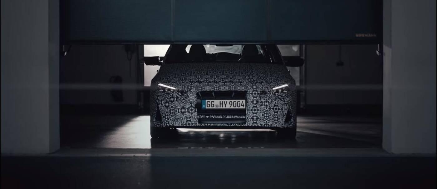 Hyundai Elantra N 2022 nagrany na Nurburgring