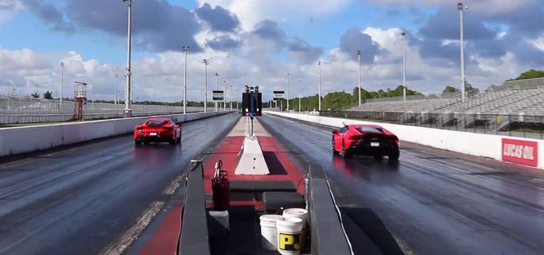 Pojedynek włoskiej potęgi z Ferrari F8 Tributo oraz Lamborghini Huracan EVO