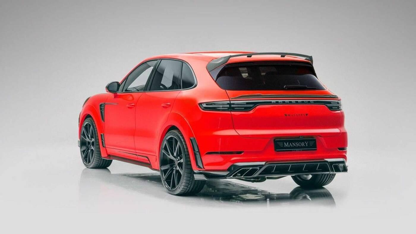 Porsche Cayenne w wydaniu Mansory… podoba Wam się?