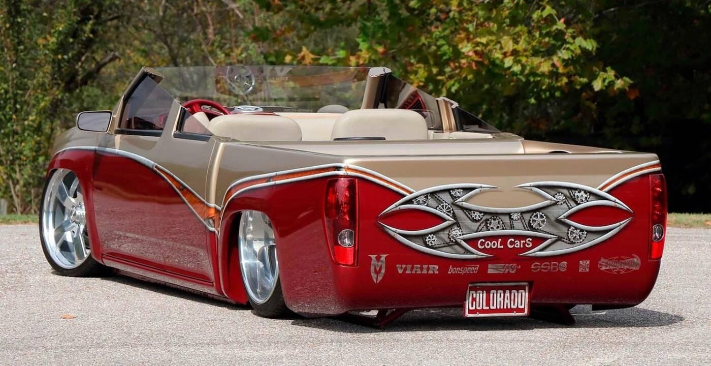 To pewnie najdziwniejszy pickup Chevroleta