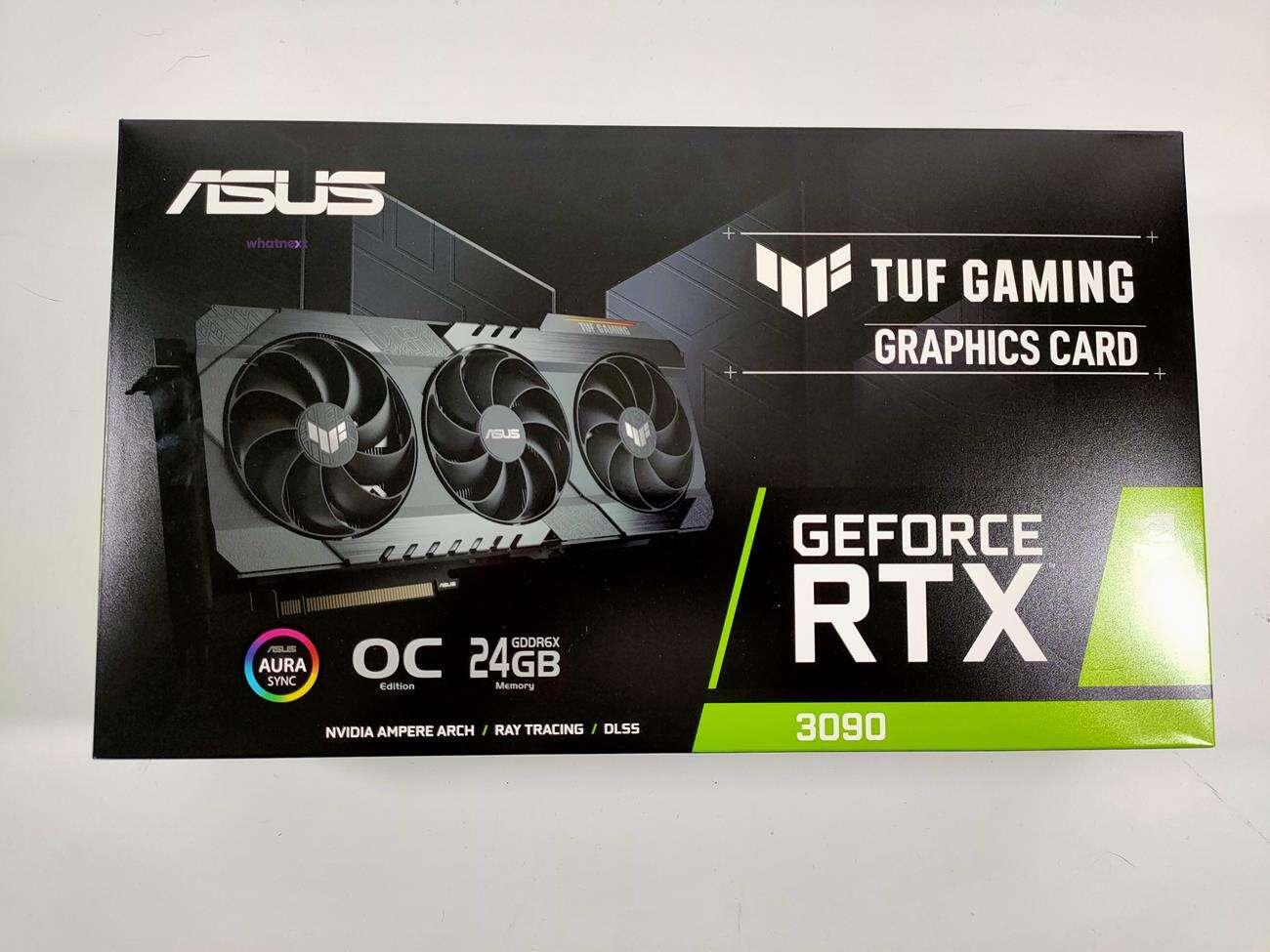 Test Asus GeForce RTX 3090 TUF Gaming OC