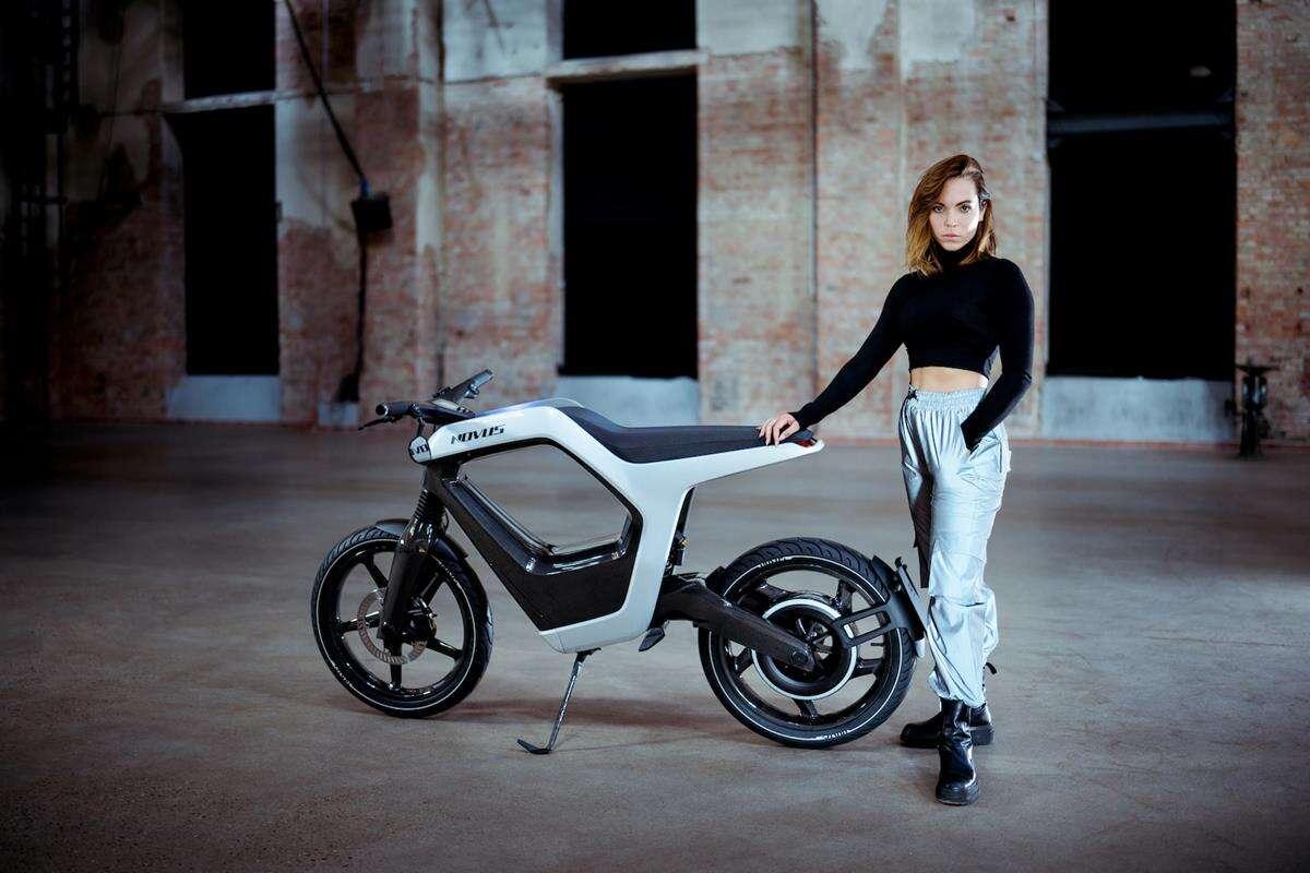 Wyjątkowy elektryczny motocykl od NOVUS szokuje ceną
