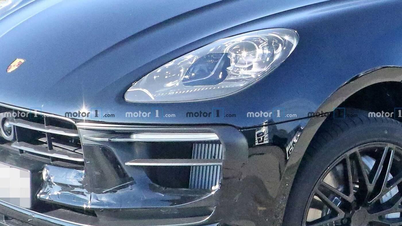 Wyszpiegowany Porsche Macan szykuje się do następnego liftingu