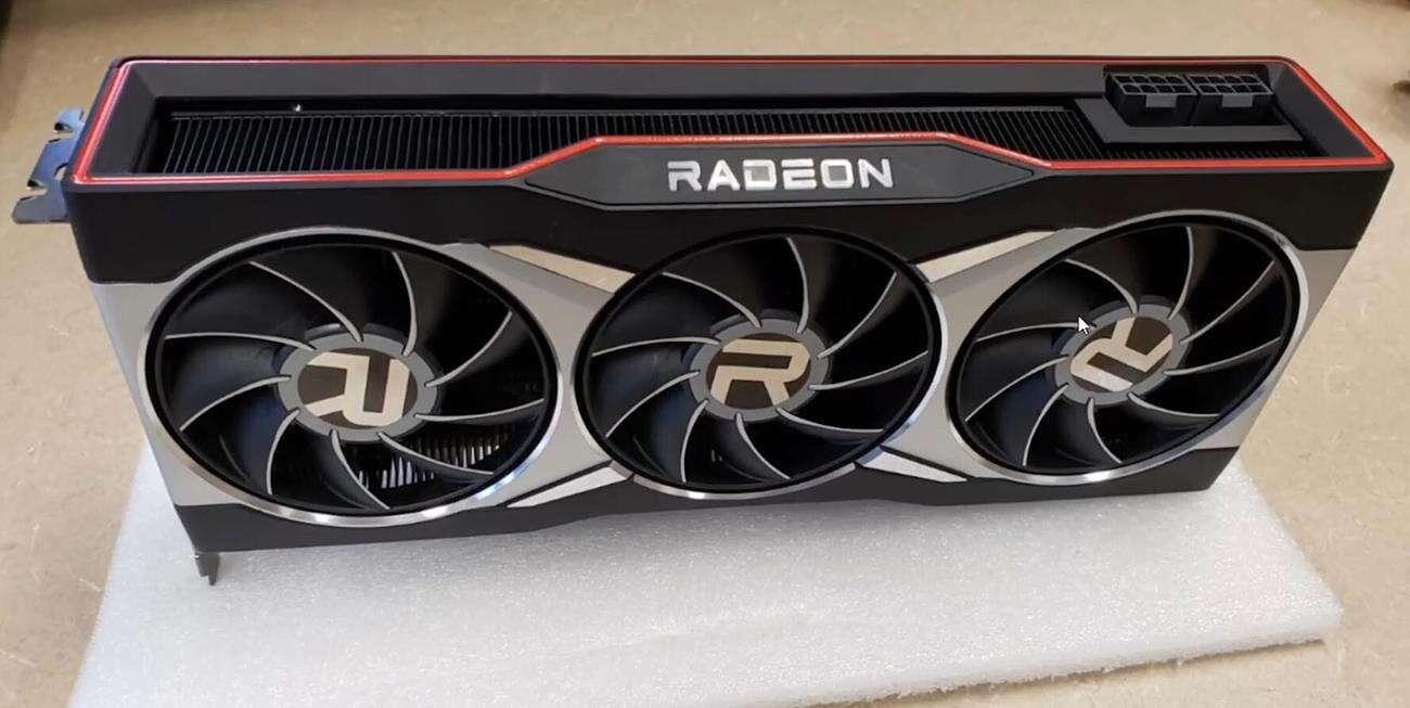 AMD Radeon RX 6000, wygląd AMD Radeon RX 6000