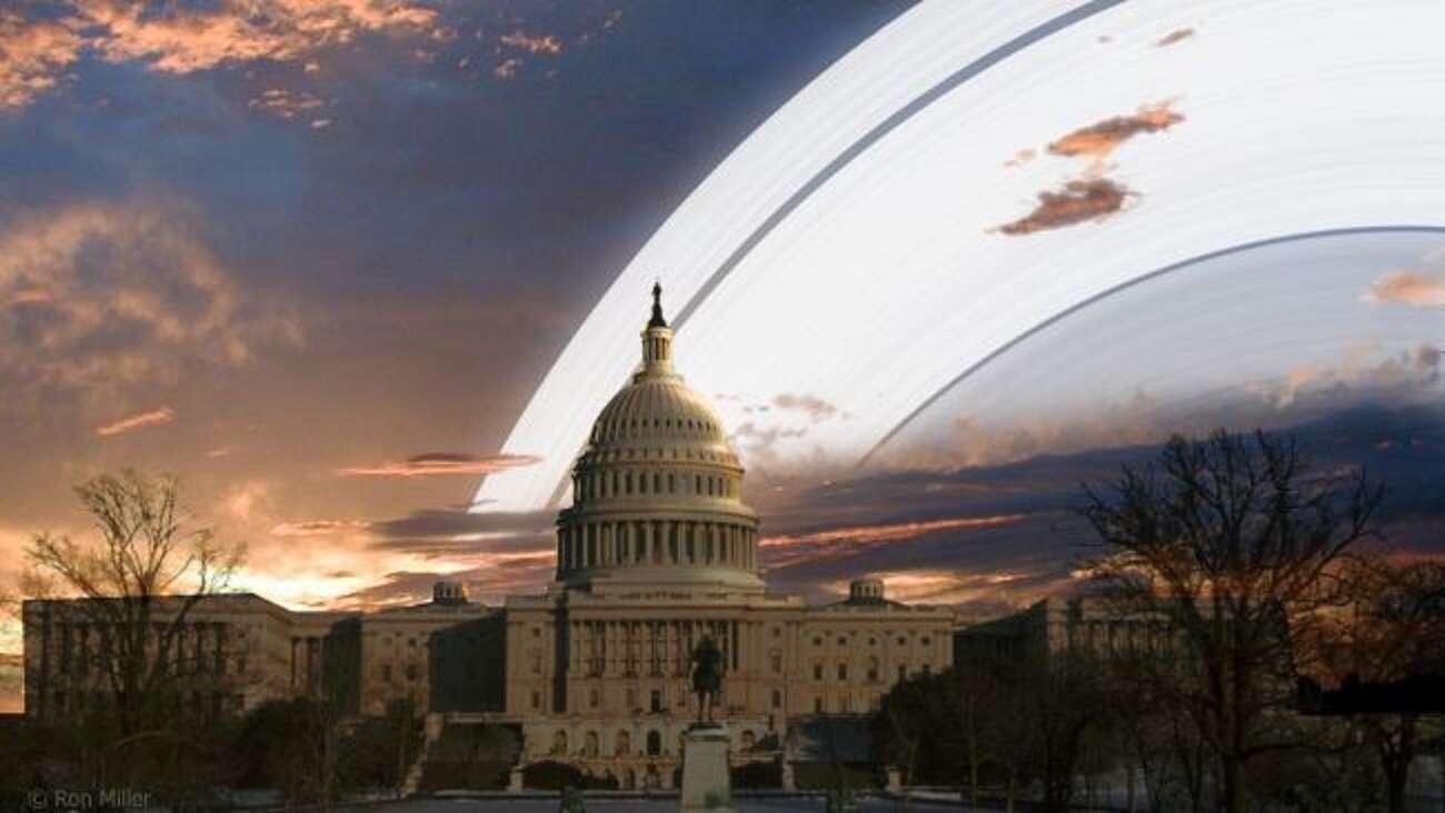 Co by było, gdyby Ziemia miała pierścienie niczym Saturn?