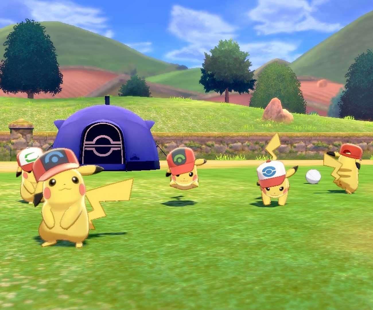 7 darmowych Pikachu w Pokemon Sword/Shield! Tak, siedem.