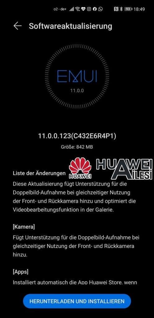 update Huawei Mate 40 Pro