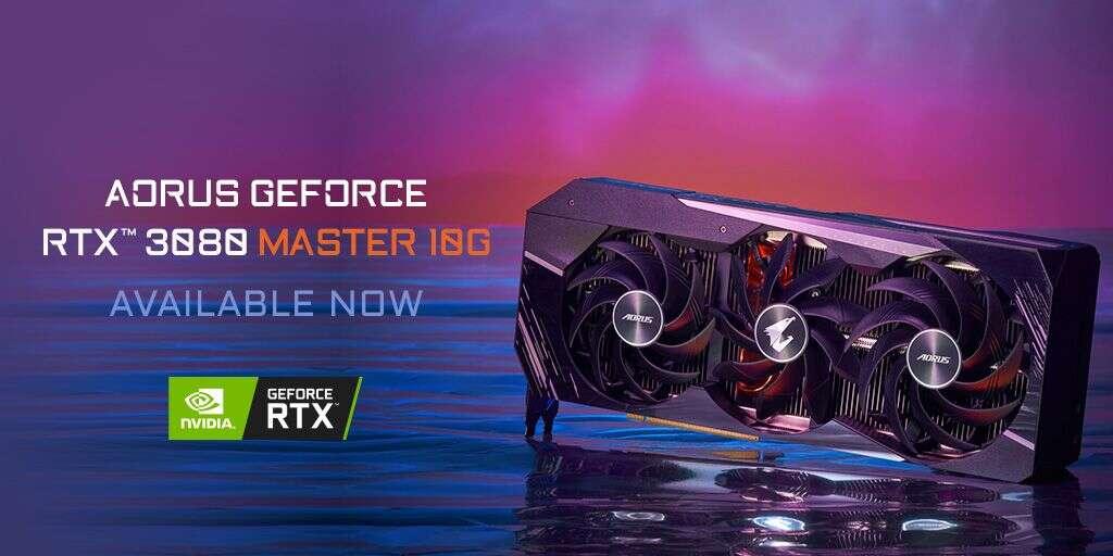 premiera Aorus GeForce RTX 3080 Master