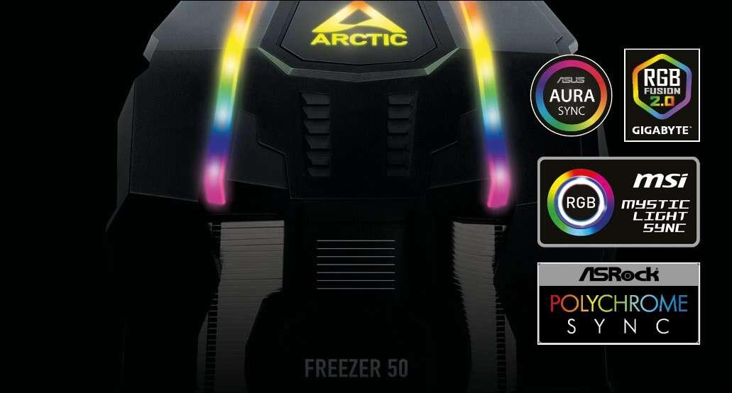 Test chłodzenia Arctic Freezer 50