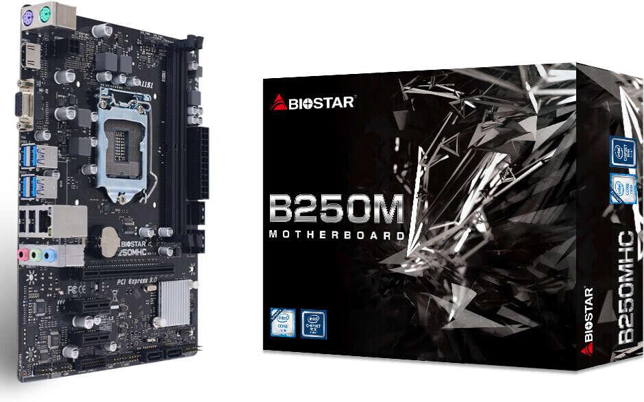 B250MHC to najnowsza płyta od Biostara