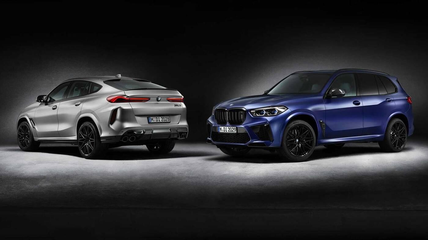 BMW X5 i X6 M Competition w wydaniu First Edition