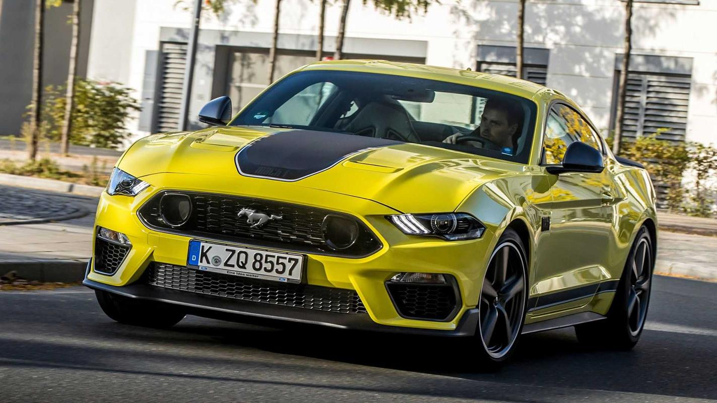 Mustang Mach 1 dla Europy
