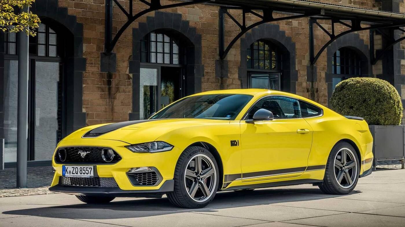 Ford tnie ofertę, aby zrobić miejsce dla Mustanga Mach 1