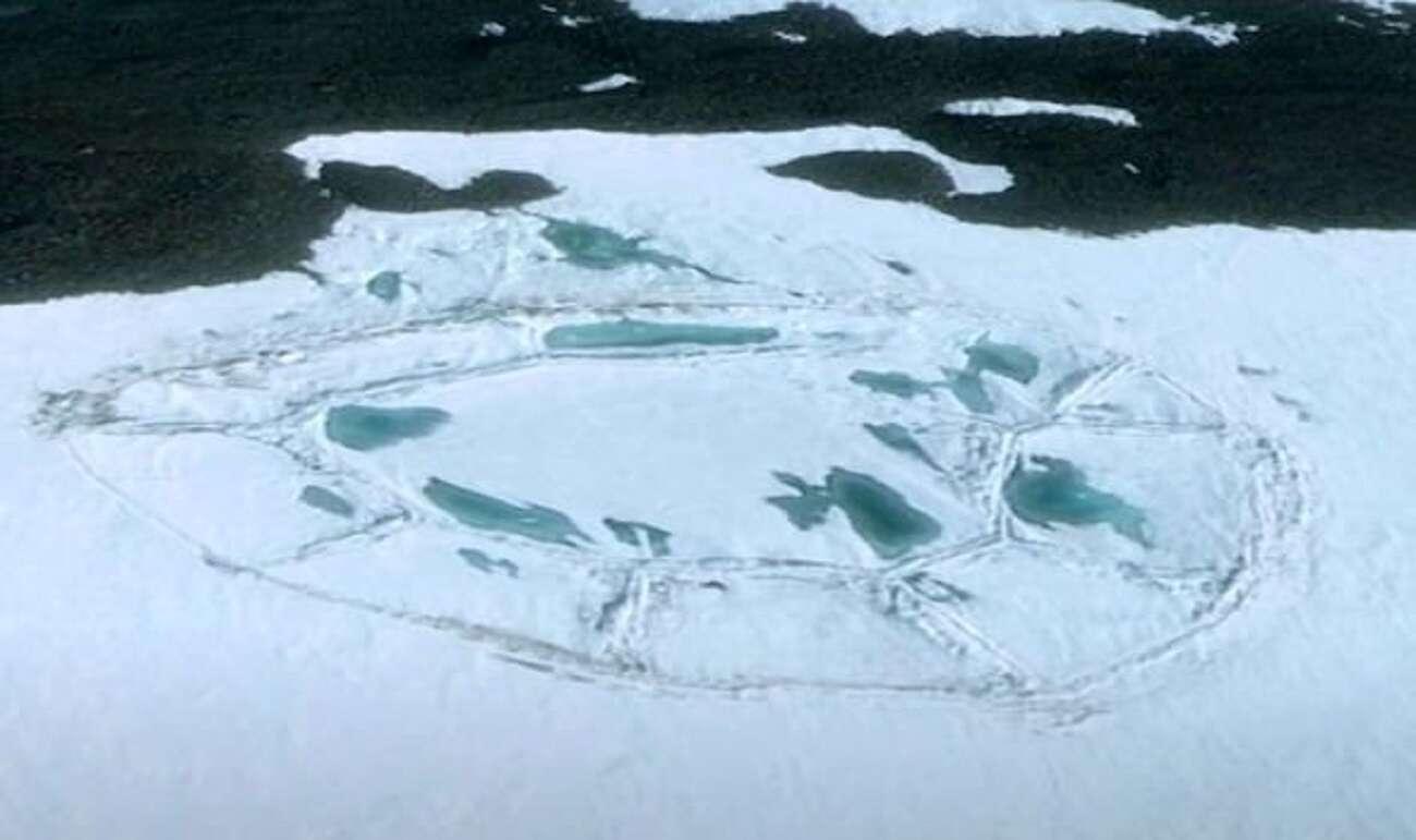 Na Antarktydzie znaleziono niesamowite formacje. Kto jest stworzył?