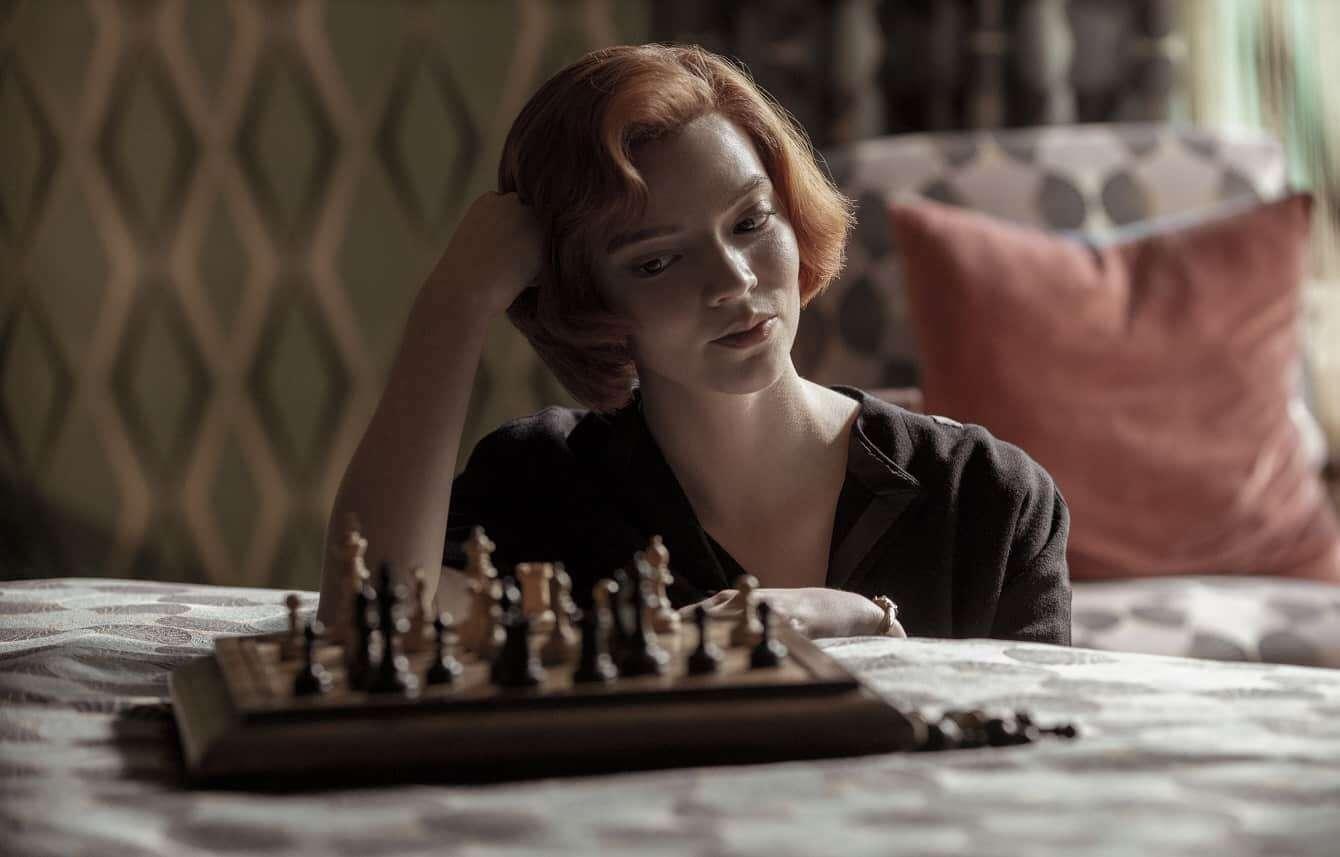 Gambit Krolowej, Anya Taylor-Joy, Marcin Dorociński, Netflix