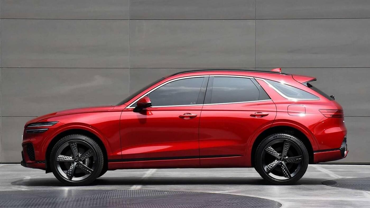 Premiera Genesis GV70 2022. Co napędzi tego eleganckiego SUVa?
