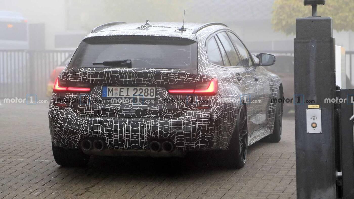 Klimatyczne fotki wyszpiegowanego BMW M3 Touring