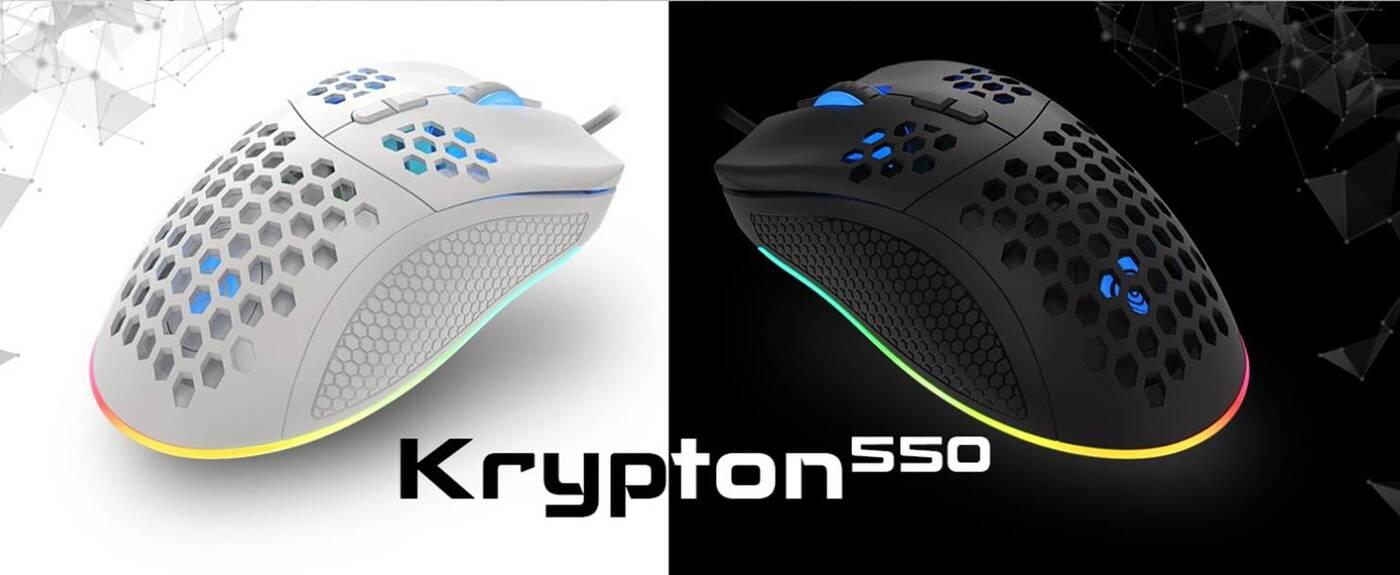 Lekka mysz od Genesis. Oto Krypton 550