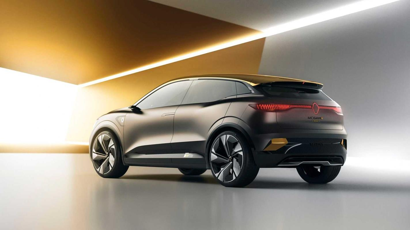 Megane eVision, czyli jak będzie wyglądać elektryczna przyszłość Renault