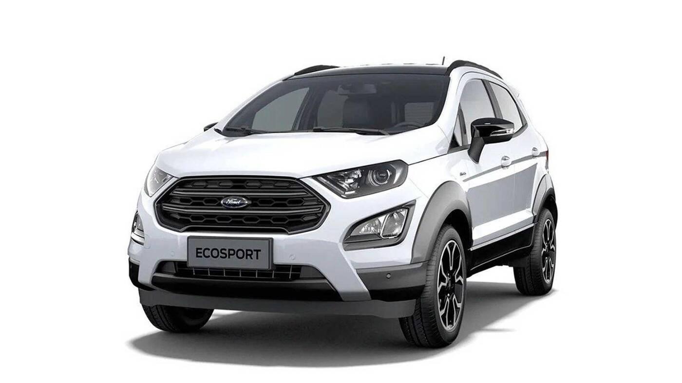 Nie powinniśmy widzieć tych zdjęć Ford EcoSport Active 2021, ale tam!