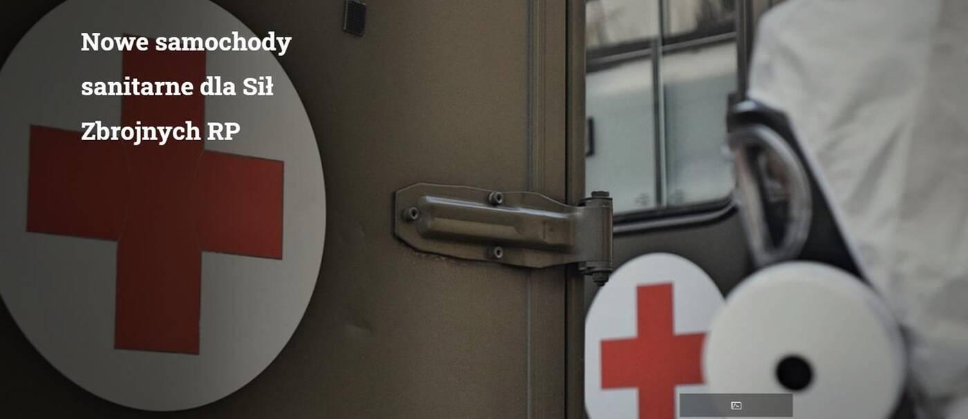 Nowe samochody sanitarne trafią do Wojska Polskiego, które dzielnie walczy z koronawirusem