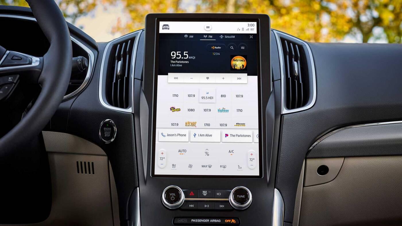 Oto nowy Ford Edge 2021, to przede wszystkim zmiany w kabinie