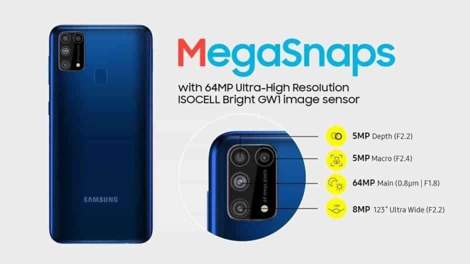 specyfikacja Samsung Galaxy M31 Prime