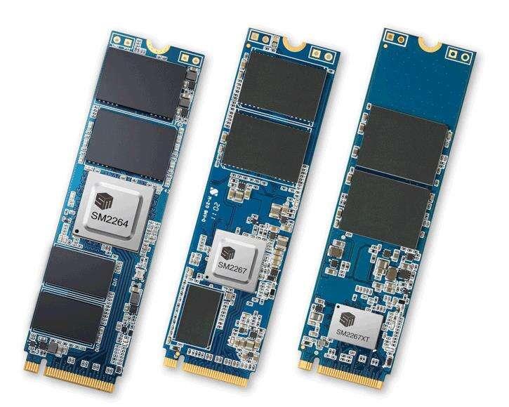 Silicon Motion wypuszcza nowe kontrolery PCI-E 4.0 NVMe