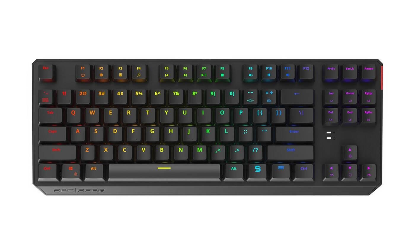 Smukła i gamingowa klawiatura SPCGear GK630K