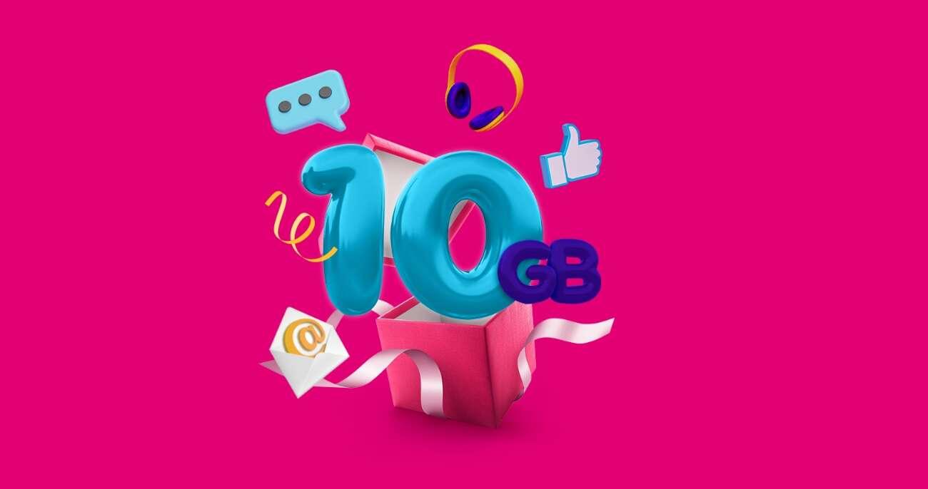 Darmowe 10 GB w T-Mobile z okazji dnia Internetu