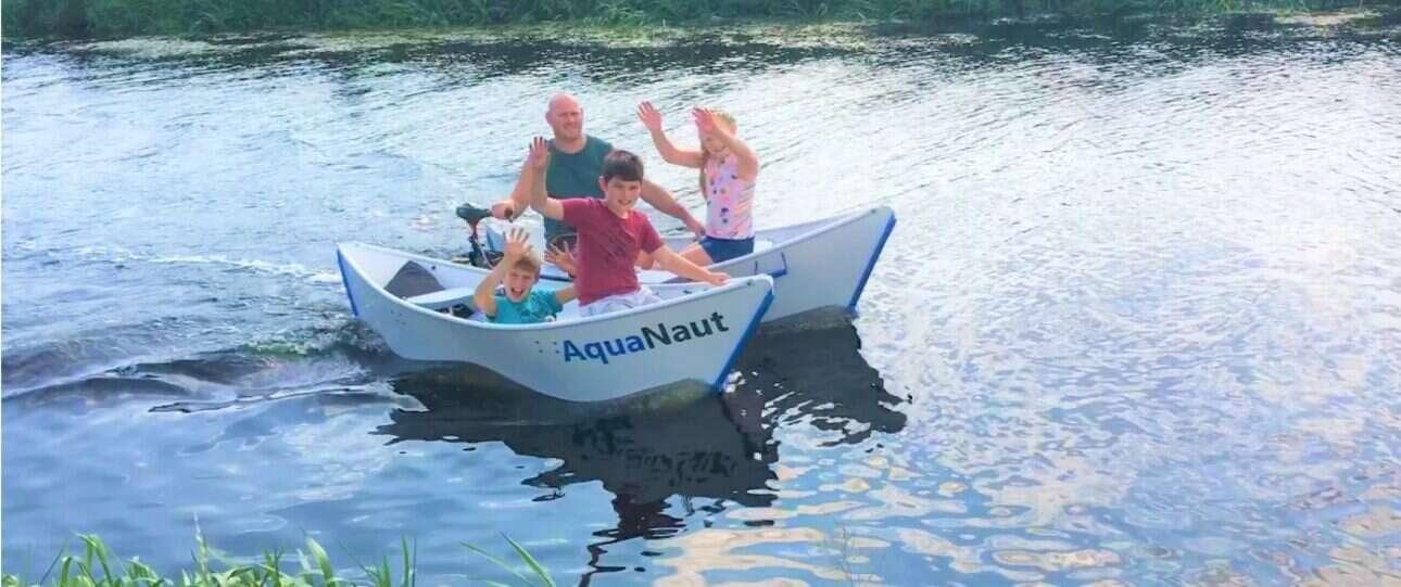 Tego jeszcze nie było, czyli składana elektryczna łódka AquaNaut 270