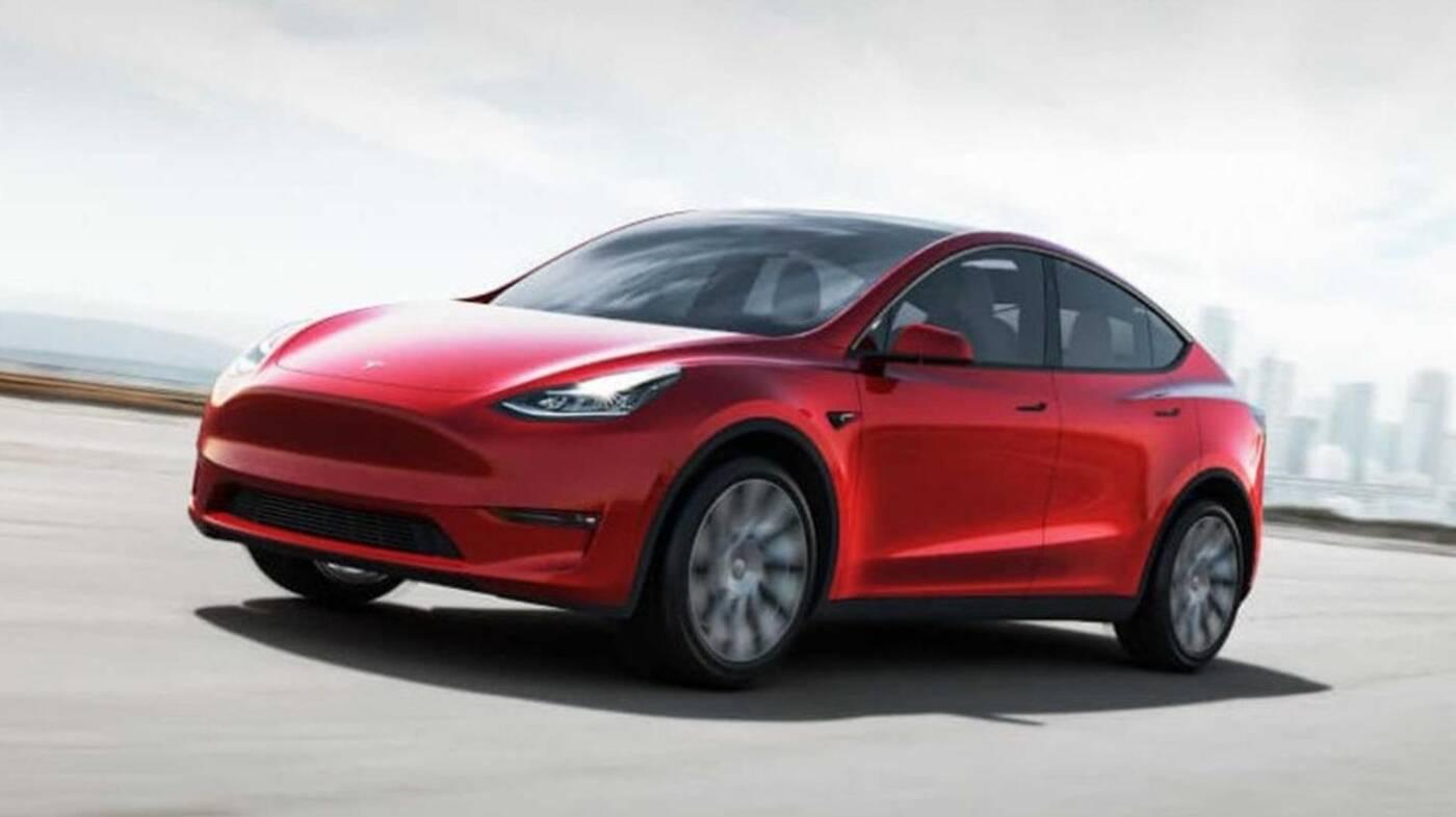 Model Y Tesla podwójne szyby