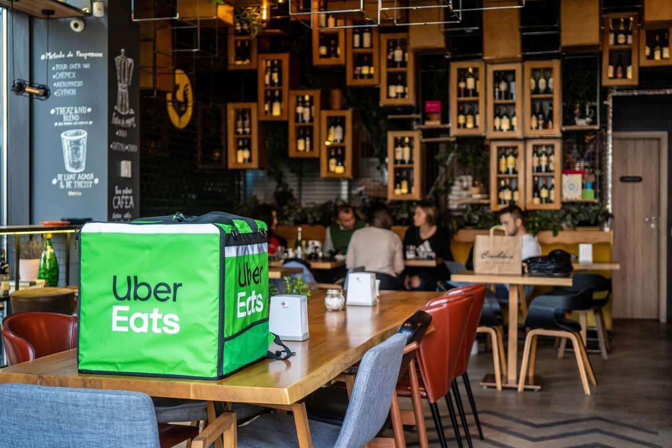 Uber Eats, pandemia, lockdown
