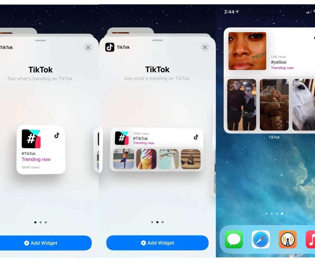 Widżet TikTok na iOS. Wszystkie trendy od teraz pod ręką