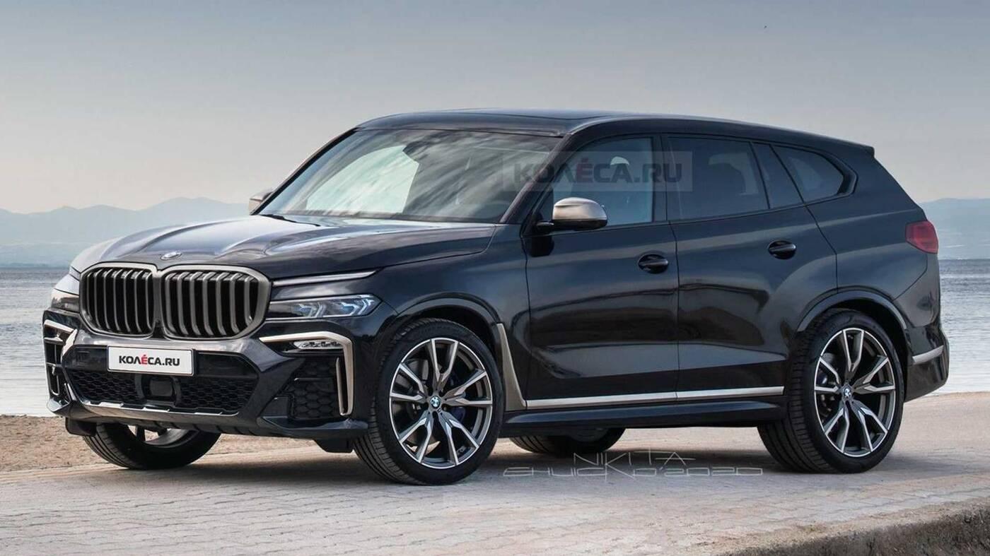 render SUVa BMW X8