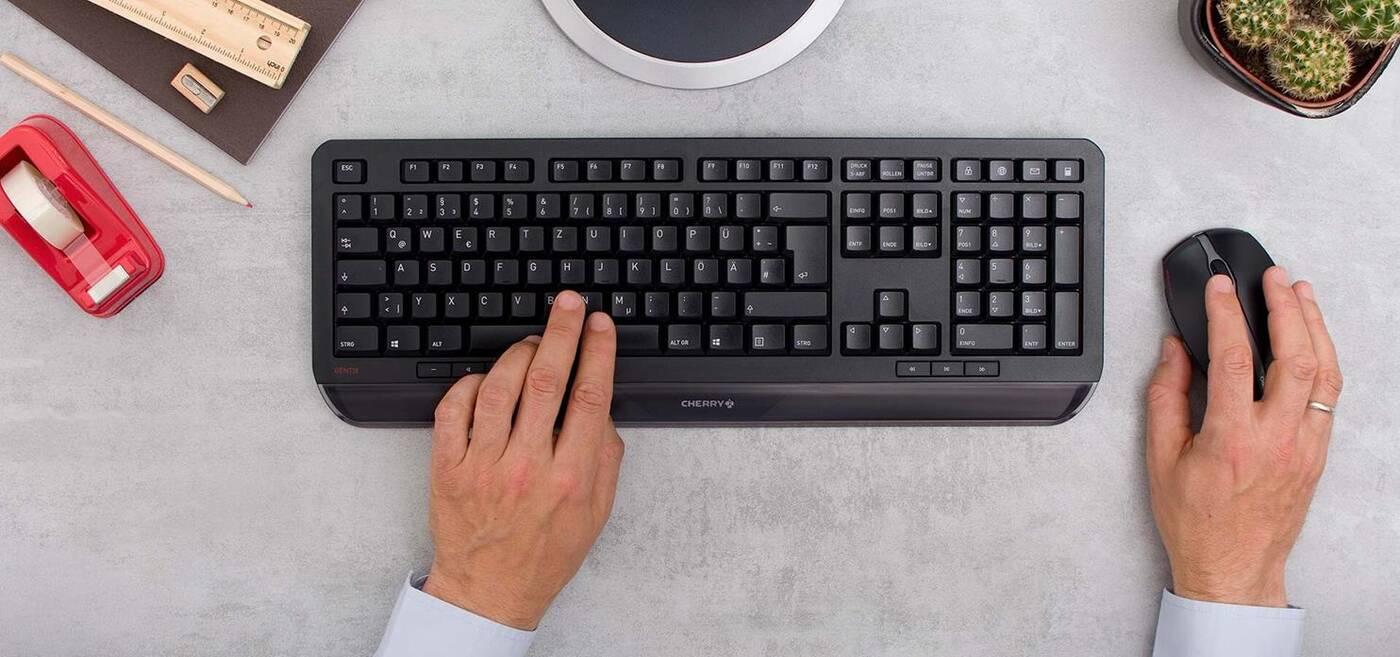 klawiatura myszka Cherry Gentix Desktop