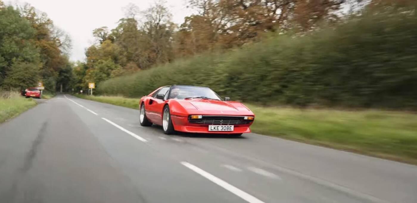 38-letnie Ferrari 308 GTS przerobione na elektryczny model