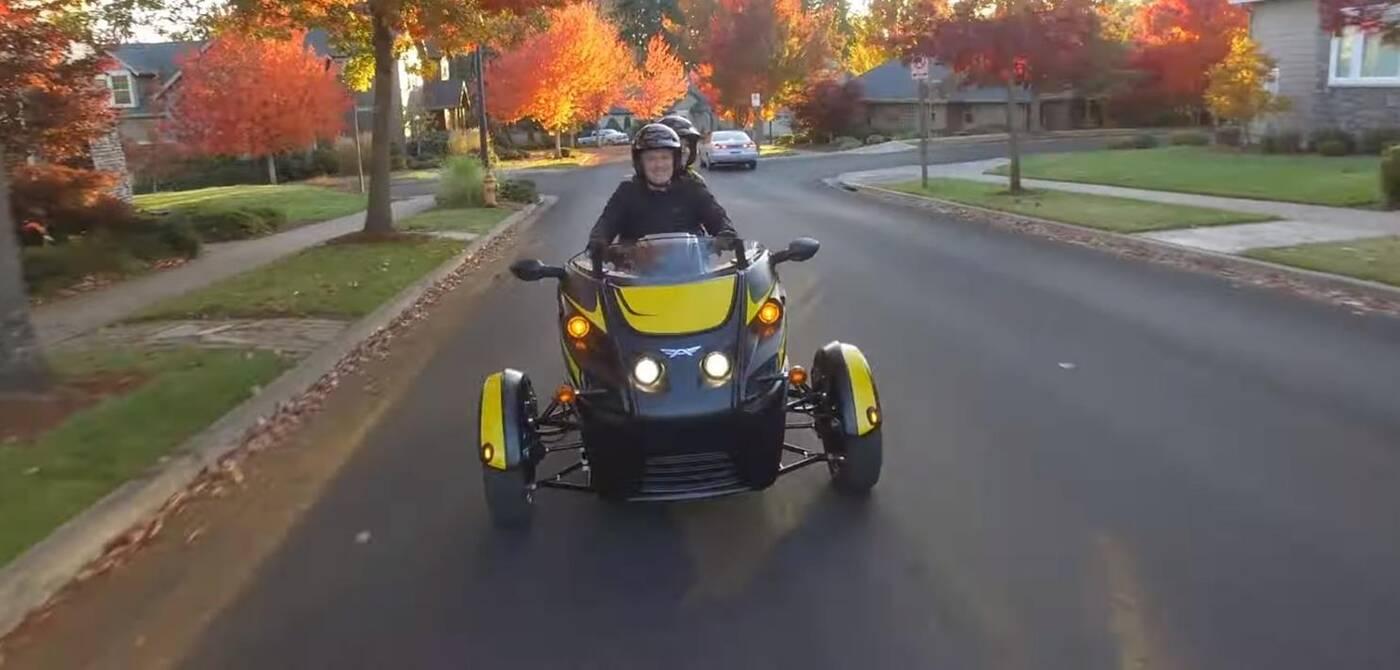 Arctimoto Roadster ma zabawę nawet w samej nazwie