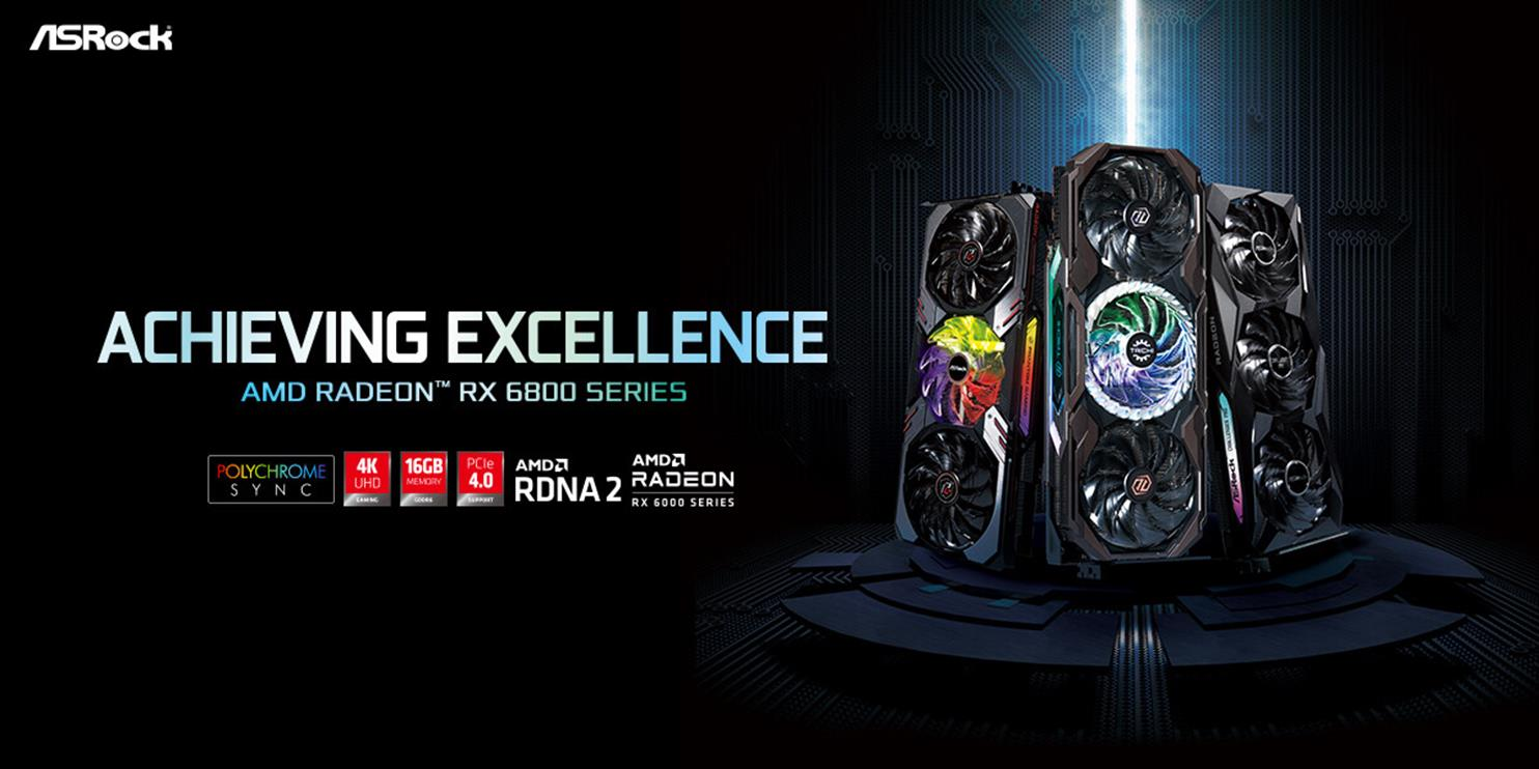 ASRock ujawnia karty Radeon RX 6800 XT i RX 6800