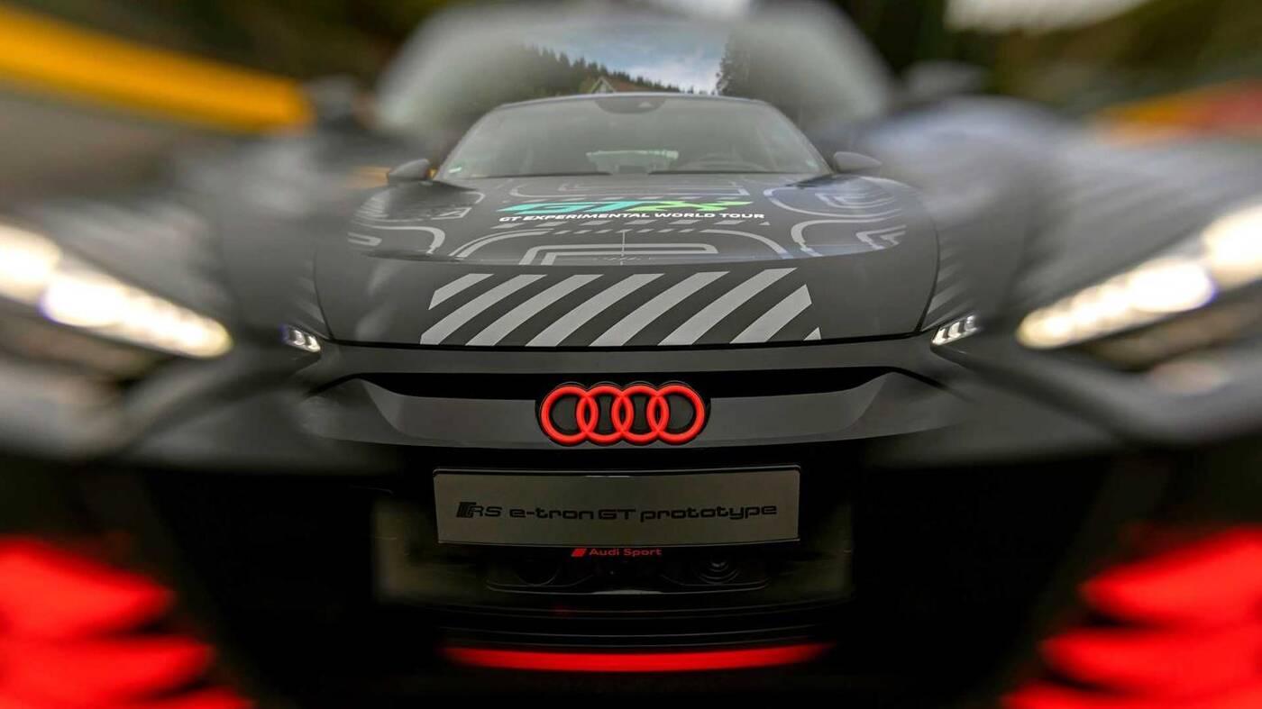 Audi RS E-Tron GT, RS E-Tron GT, zwiastun Audi, elektryczne Audi