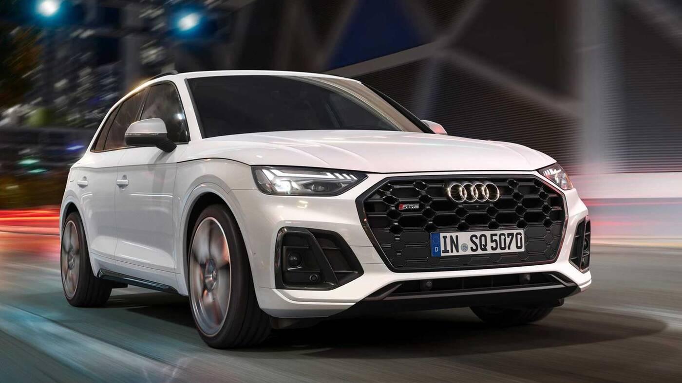 Audi SQ5 TDI 2021 zaliczyło premierę