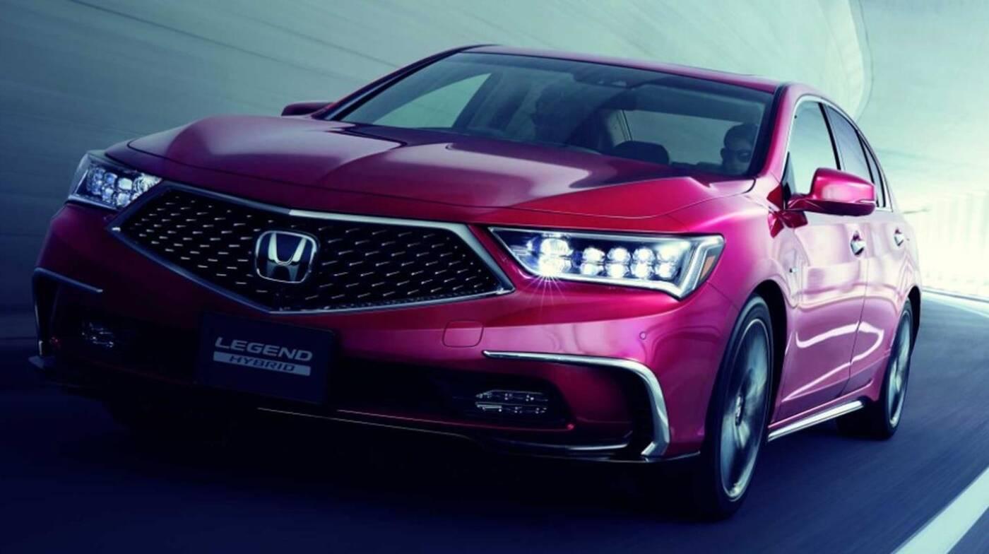 Autonomia Honda Legend. Wyścig o bycie pierwszym trwa