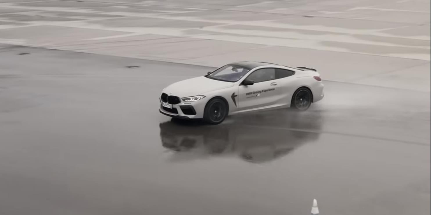 BMW uczy driftowania samochodem z napędem na tylne i wszystkie koła