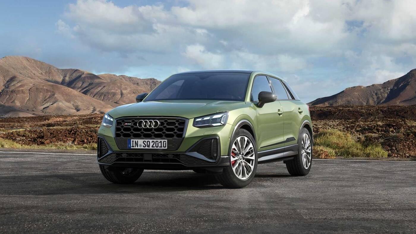 Co nowego w Audi SQ2 2021?