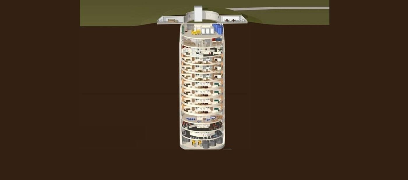 Co powiecie na luksusowy schron w nuklearnym silosie rakietowym?