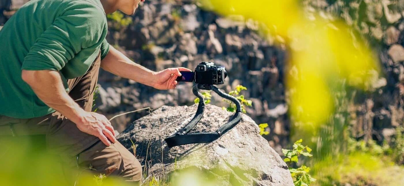 Conda, czyli połączeniu statywu i paska dla aparatu