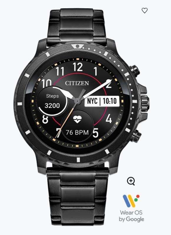 CZ Smart to wyjątkowy nowy zegarek od Citizen