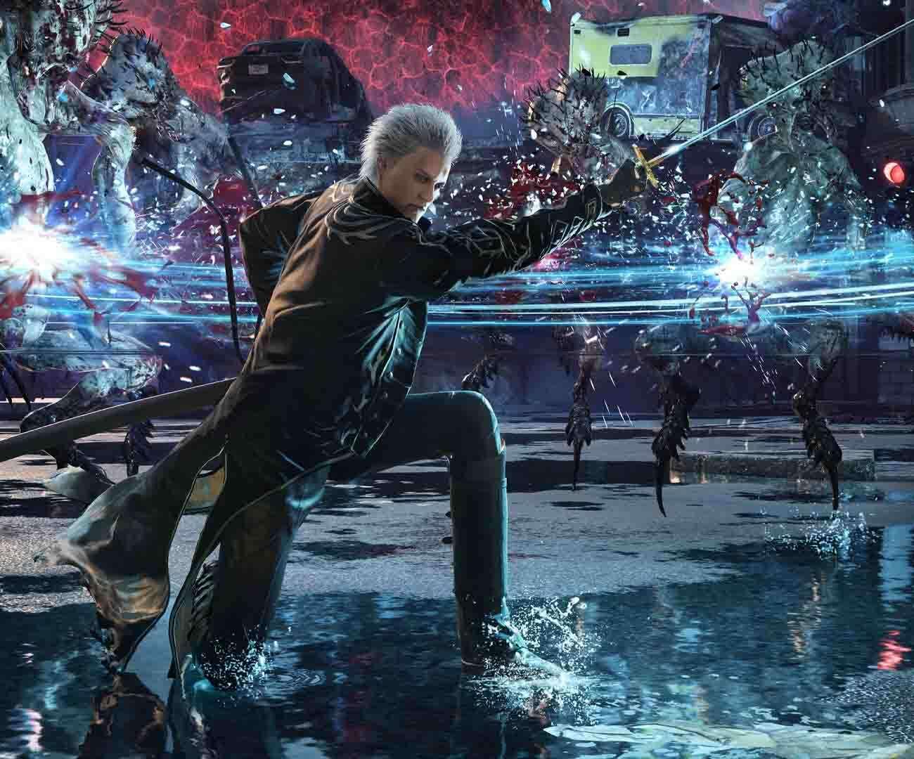 Devil May Cry 5 na nowych materiałach PS5. Demony klękają
